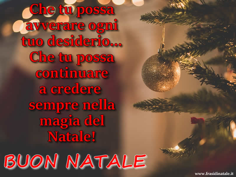 La Magia Del Natale Frasi.Buon Natale Frasi E Immagini Buon Natale Da Condividere